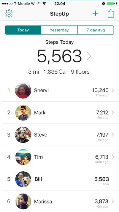 StepUp Pedometer - The Best Step Tracking App for iOS & Android